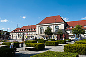 Railway station, Weimar, Thuringia, Germany