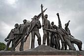Mahnmal, Gedenkstätte Buchenwald, Weimar, Thüringen, Deutschland