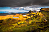 Quiraing, Isle of Skye, Highland,  Scotland