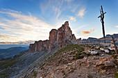 Crespeina Fork, Puez-Odle Group, Dolomites, South Tyrol, Italy.