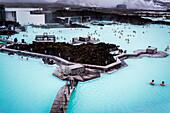 The Blue Lagoon, Iceland, beautiful geothermal area near Reykjavik