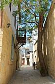 Narrow lane in Im Arabahmet quater,   Lefkosa, Nicosia, North Cyprus