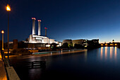 combined heat and power station Berlin, Cogeneration plant Berlin, Germany