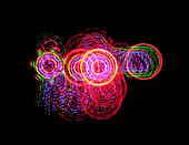 Spiralen, Lichtspiralen, Neon