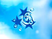 Wasserblasen und Sterne, Erfrischung