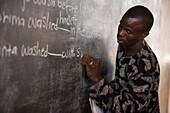 Teacher Musa Manjang, Balaba Primary School, The Gambia, West Africa, Africa