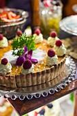 Australia, Victoria, VIC, Melbourne, The Block Arcade, Hopetoun Tea Rooms, pastries.