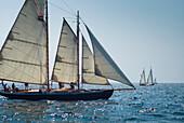 USA, Massachusetts, Cape Ann, Gloucester, America´s Oldest Seaport, Annual Schooner Festival.