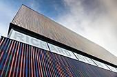 Germany, Bavaria, Munich, Museum Brandhorst, art museum built in 2009, exterior.