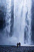 One of the most powerful waterfalls in Iceland, a classic visiting point for tourists.