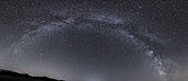 Image of an isolated MIlky Way upon a clear sky, Cerdanya, France.