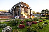 Botanical Garden detail in Nantes, France.