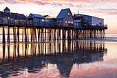 Sunrise, Old Orchard Beach, Maine, USA
