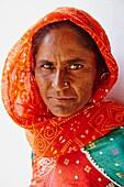 India, Gujarat, Kutch, Dhrang village, Ahir ethnic group.