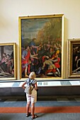 Paintings Accademia Galllery Florence Italy IT Renaissance EU Europe Tuscany.