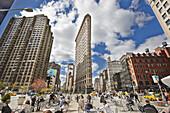 Flatiron District, Manhattan, New York, USA.
