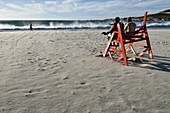 Beach of Camps Bay, Cape Town, Western Cape, South Africa