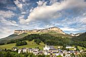 Epernay village in Entremon le Vieux, Natural Park of La Chartreuse, Savoie, Rhône-Alpes, France.