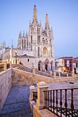 Cathedral of Burgos, Burgos city, Way of St. James, Burgos, Spain.