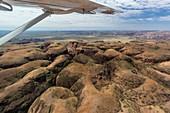 Aerial view of the Bungle Bungle, Purnululu National Park, Kimberley, Western Australia, Australia.