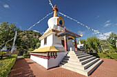 Dag Shang Kagyü, Buddhism community center in Panillo, Huesca.