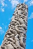 The Monolith, Monolith of Life, Gustav Vigeland Sculptures, Vigeland Sculpture Park, Frogner Park, Oslo, Norway, Europe.