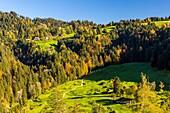 Emmental region near lüderenalp, Kanton Bern, Switzerland.