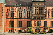 The Schweidnitzer Cellar (Piwnica Swidnicka) is a historic restaurant in the basement of the Wroclaw Old Town Hall. The Old Town Hall of Wroclaw stands at the center of the city's Market Square. The Gothic building is one of the main landmarks of the city