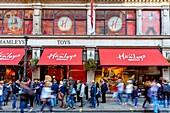 Hamleys Toy Shop, Regent Street, London, UK.