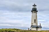 Lighthouse at Yaquina, Oregon.