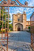 Monasterio de Santo Tomás y Palacio de los Reyes Católicos, Santo Tomás Monastery and Catholic Monarchs Palace, Avila, Castile and Leon, Spain. UNESCO World Heritage Site.
