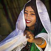 GHADAMES, LIBYA - APRIL 09: The Ghadames Festival is held each year, the local townsfolk meet to eat, sing, and dance, Berber and Tuareg people also organize camel parading and racing on April 9, 2012 in Ghadames, Libya.