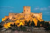Castle, Almansa, Albacete province, Castilla-La Mancha, Spain