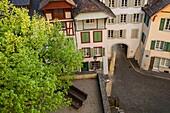 Afternoon in Aarau, canton Aargau, Switzerland.
