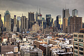 manhattan from press lounge rooftop bar west 48th st.