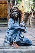 Barong and Kris Dance, Traditional Balinese dance, Ubud, Bali Island, Indonesia.