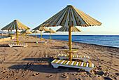Beach umbrella - Dahab, Sinai Peninsula, Egypt.