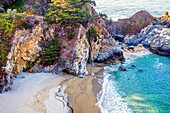 McWay Falls at Julia Pfeiffer Burns State Park, California, USA.