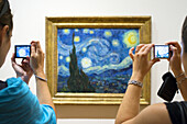 Painting ´´ Starry Night ´´ by Van Gogh at the Museum of Modern Art MOMA.