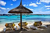 Africa, Mascarene, Mascarene Islands, Mascarenhas, Mauritius, Northern Mauritius, Rivière du Rempart District, Grand-Baie, Grand Bay - coastal village - famous Mauritian resort