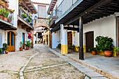 Jewish Quarter. Guadalupe, Cáceres, Extremadura, Spain, Europe.