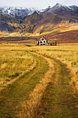 'Abandoned house in rural Iceland, Snaefellsness Peninsula; Iceland'