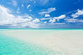 Tropical White Sand Beach and Sea