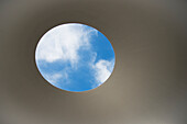'James Turrell Skyspace at the deYoung Museum; San Francisco, California, United States of America'