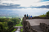 'The view atop the Hercules monument; Kassel, Germany'