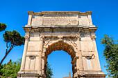 Arch of Titus, Forum Romanum, Rome, Latium, Italy