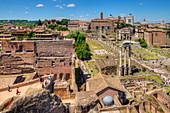 Forum romanum, Rome, Latium, Italy