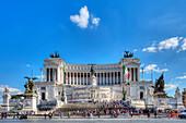 Monumento Nazionale a Vittorio Emanuele II, Rome, Latium Italy