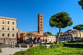 Church San Maria in Cosmedin, Rome, Latium, Italy