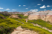Badlands National Park, South Dakota, USA
